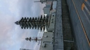 R,元年12月 東京都 新島 足場組み立て完了